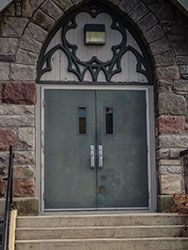 Replace the Water St Entrance Doors