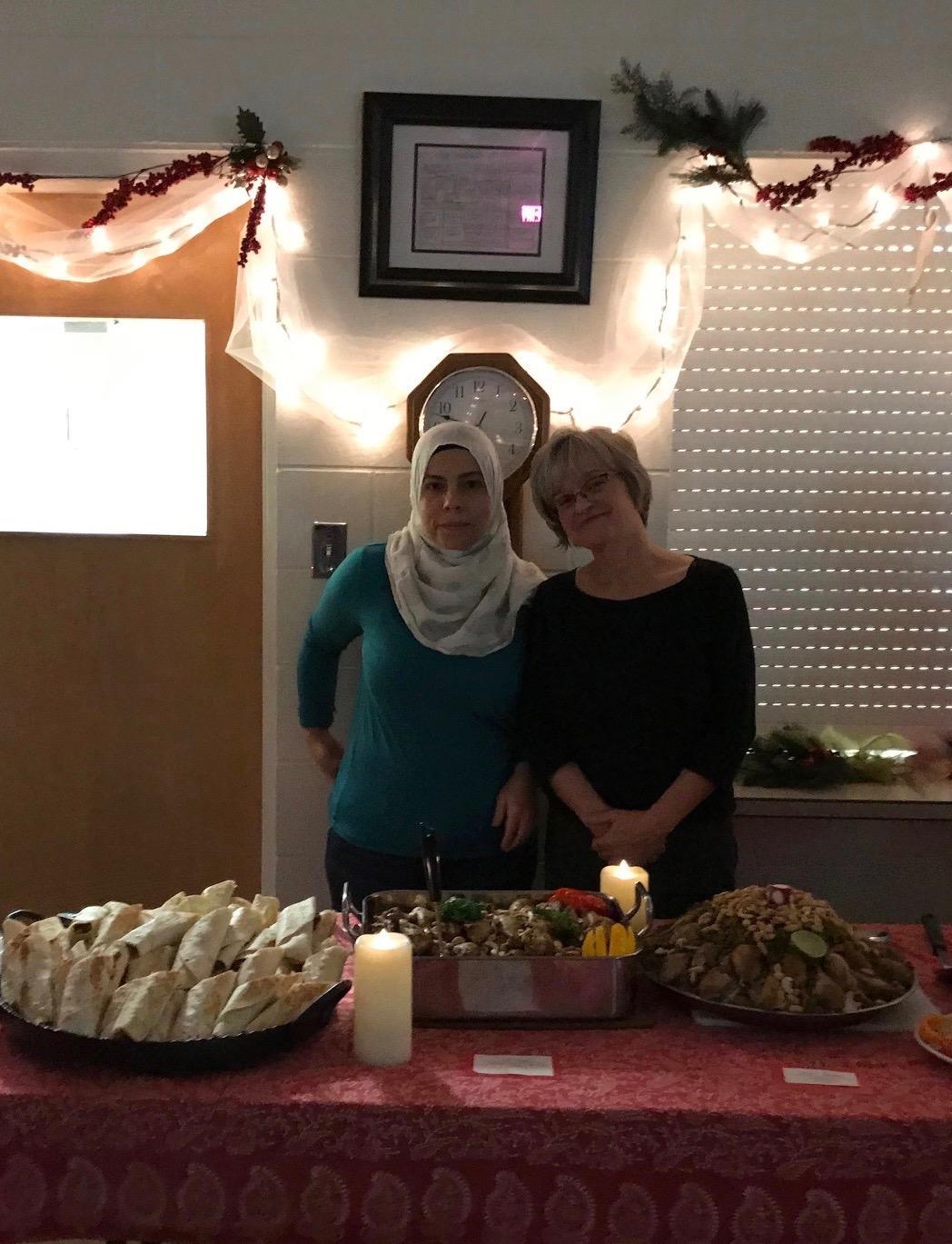 Syrian Feast Douba and Darlene